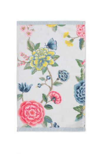 Gastendoek-wit-bloemen-30x50-good-evening-pip-studio-katoen-terry-velour