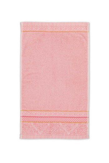 Gastendoek-roze-30x50-soft-zellige-pip-studio-katoen-terry-velour