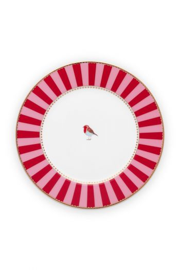 pastry-plate-love-birds-in-red-and-pink-with-bird-17-cm