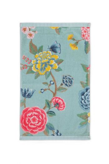 Gästetuch-blau-blumen-30x50-good-evening-pip-studio-baumwolle-velours-frottier