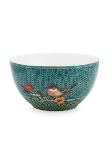 bowl-winter-wonderland-made-of-porcelain-with-a-bird-and-a-squirrel-in-green-15-cm