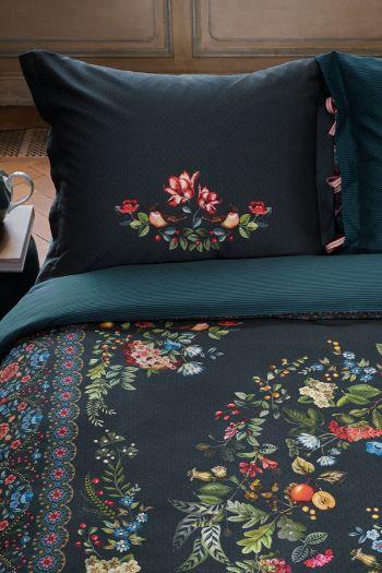 pillowcase-forest-carpet-dark-blue-flowers-pip-studio-60x70-40x80-cotton