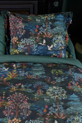 pillowcase-pip-garden-dark-blue-flowers-pip-studio-60x70-40x80-cotton