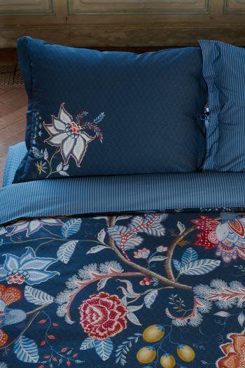 pillowcase-tree-of-life-dark-blue-flowers-pip-studio-60x70-40x80-cotton