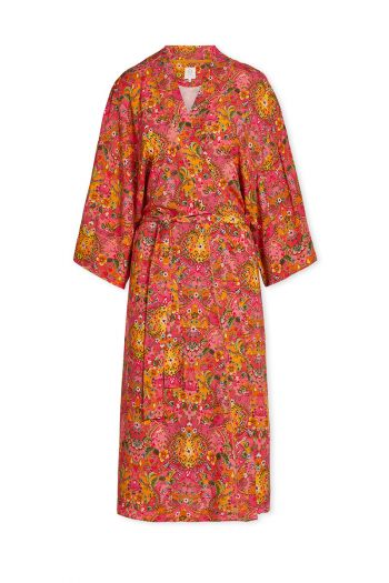 Kimono-pink-floral-pippadour-pip-studio-cotton-linnen