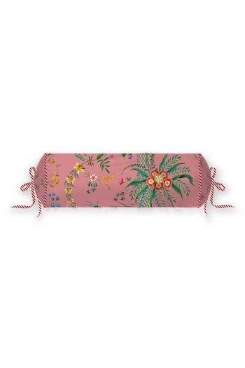 kussen-roze-bloemen-rolkussen-sierkussen-petites-fleurs-pip-studio-22x70-katoen