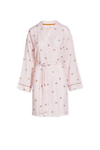 Kimono-pink-floral-chérie-pip-studio-cotton-linnen