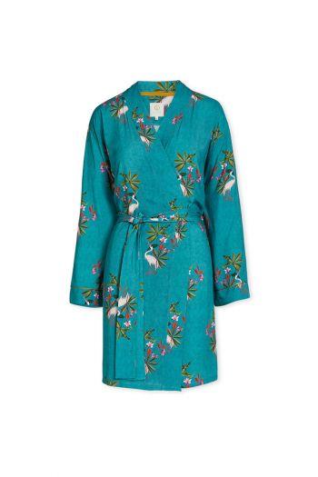 Kimono-green-floral-my-heron-pip-studio-cotton-linnen