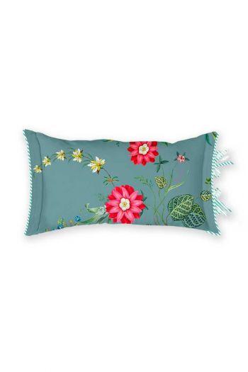 kussen-blauw-bloemen-rechthoek-sierkussen-petites-fleurs-pip-studio-35x60-katoen