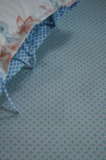 Fitted-sheet-light-blue-startile-pip-studio-cotton-140x200-180x200-cm