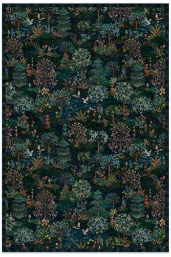 carpet-botanical-dark-blue-pip-garden -pip-studio-120x185-155x230-185x275-200x300