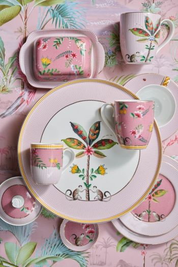 La Majorelle Porcelain Collection Pink