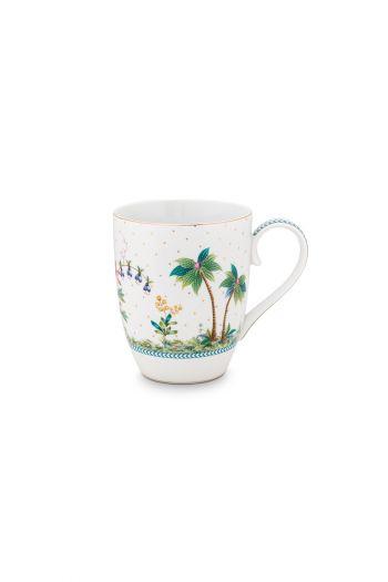 porcelain-mug-large-jolie-dots-gold-350-ml-6/36-palmtrees-pip-studio-51.002.243