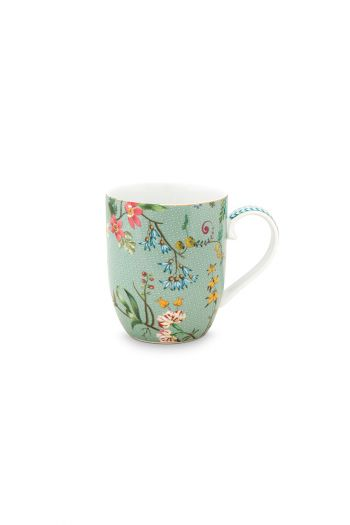 porcelain-mug-small-jolie-flowers-blue-145-ml-6/48-pip-studio-51.002.242