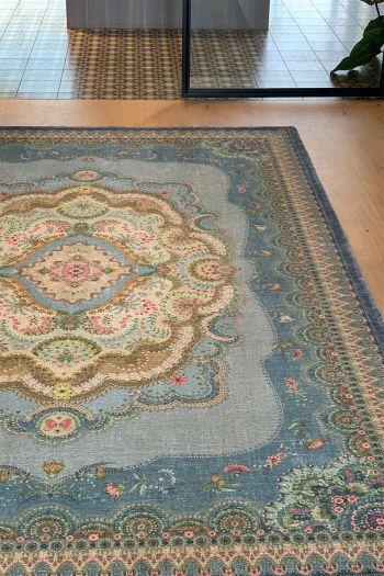 Carpet-bohemian-blue-floral-majorelle-pip-studio-155x230-200x300