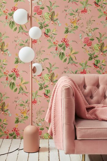 wallpaper-non-woven-vinyl-flowers-pink-pip-studio-floris
