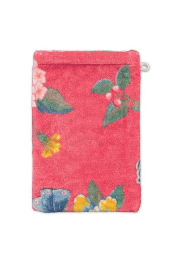 Wash-cloth-coral-floral-16x22-good-evening-pip-studio-cotton-terry-velour