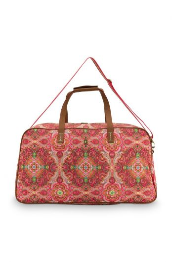 weekend-bag-moon-delight-large-in-red-with-flower-design