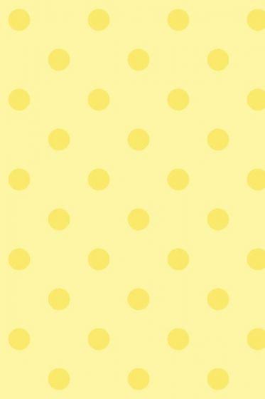 Dots behang geel