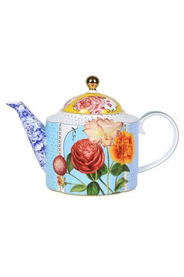Royal teapot multicoloured