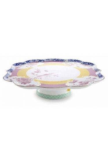 Royal cake platter multicoloured