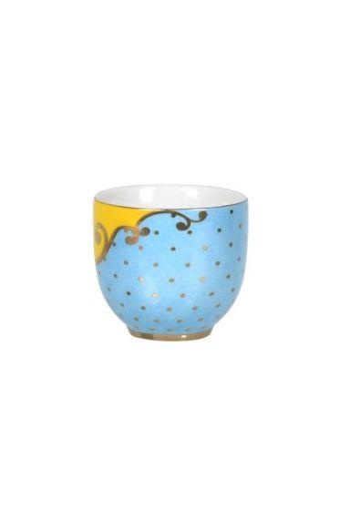 Royal egg cup blue