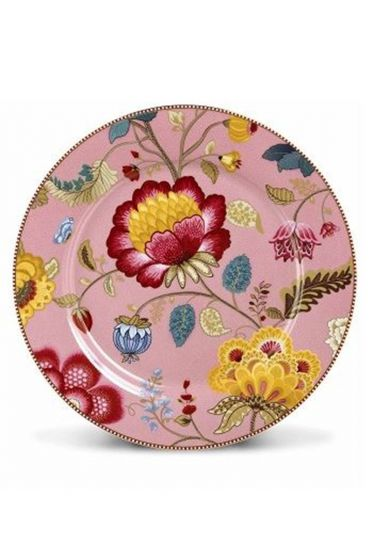Floral Fantasy underplate pink