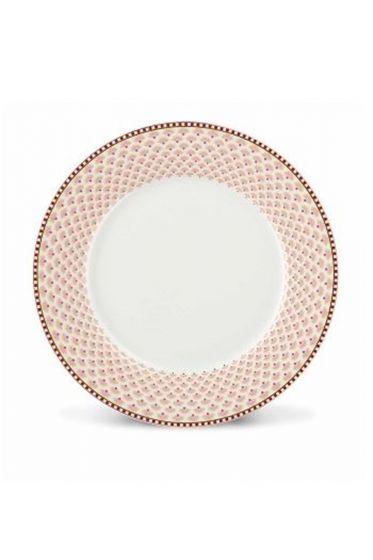 Floral Bloomingtales breakfast plate white
