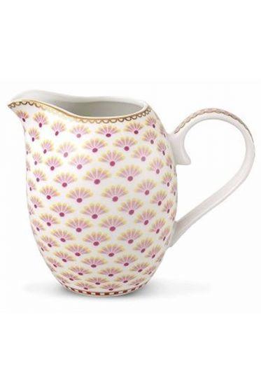 Floral Bloomingtales cream jug white