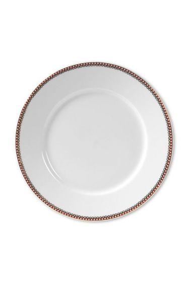 Floral Ontbijtbord 21 cm Wit