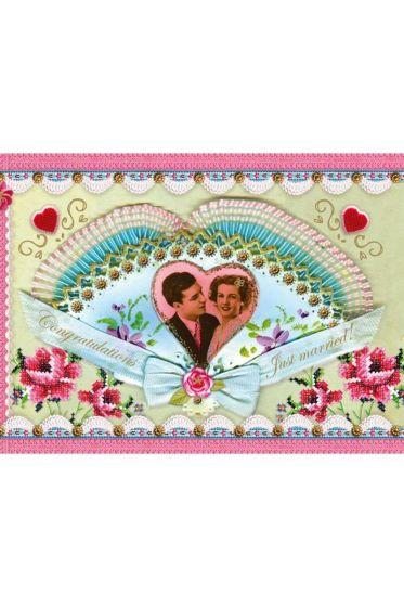 Kaart Just Married 073