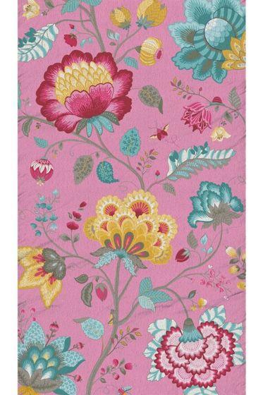 Floral Fantasy Strandlaken Roze