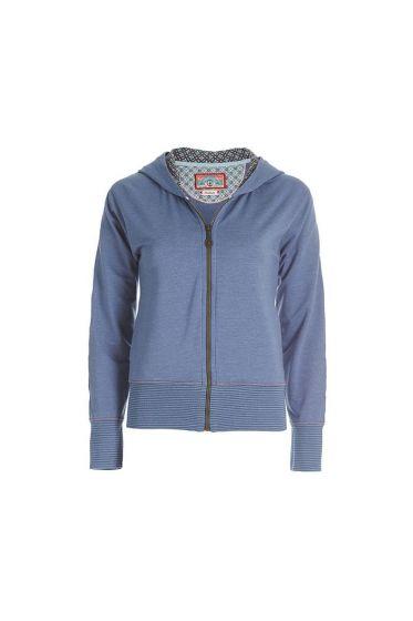 Nicks Melee Hooded Sweat Jacket Blue