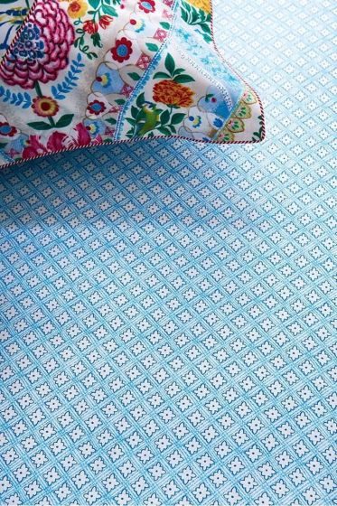 Melody Star Fitted Sheet Blue