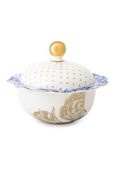 Royal White sugar bowl