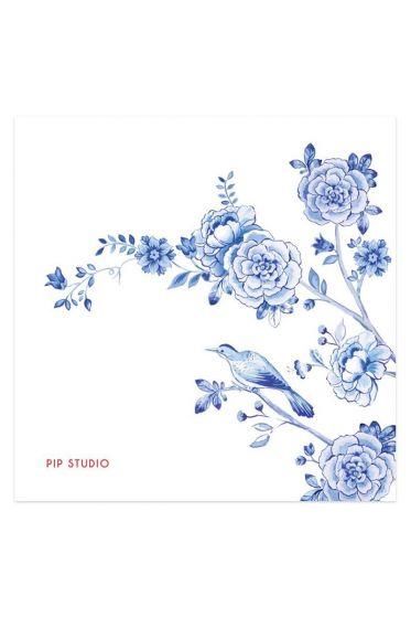 Royal napkins blue