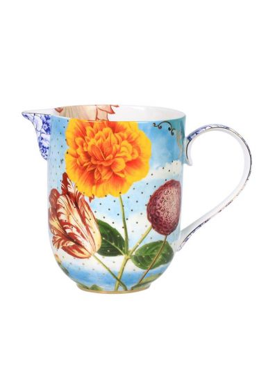 Royal cream jug multicoloured Large
