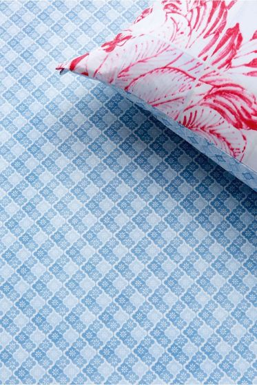 Fitted Sheet Petit Tile Blue