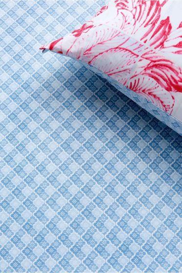 Hoeslaken Petit Tile Blauw