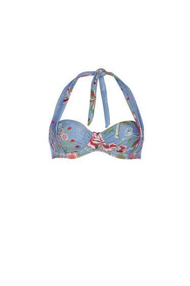 Bikini Top Le Bois Fleuri Blauw