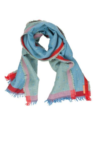 Scarf Small Dot Green