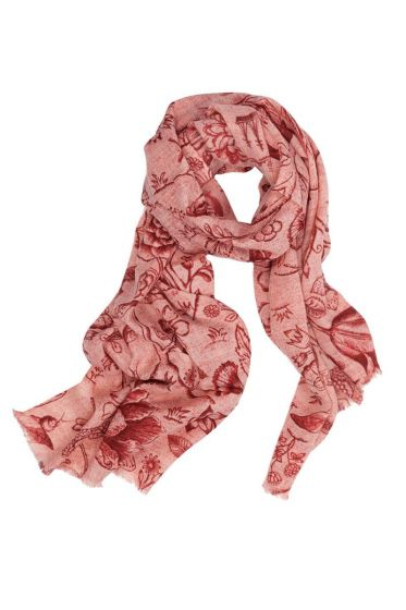 Scarf Spring to Life two-tone Pink