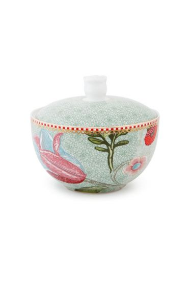 Cotton Ball Jar Spring to Life Green