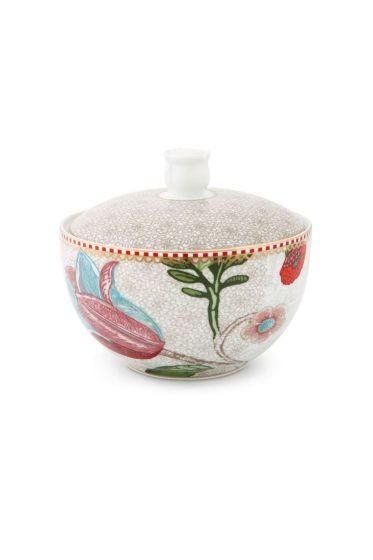 Cotton Ball Jar Spring to Life Off White