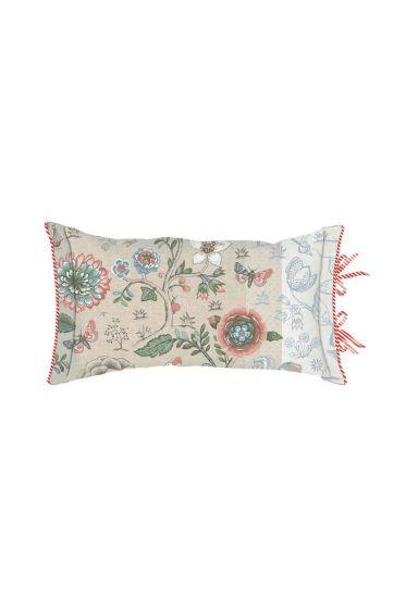 Cushion Spring to Life Rectangle Khaki