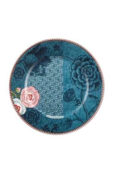 Spring to Life Frühstücksteller 21 cm Blau