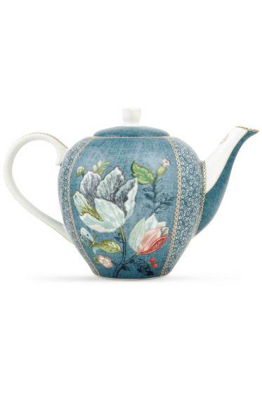 Spring to Life Teapot Blue