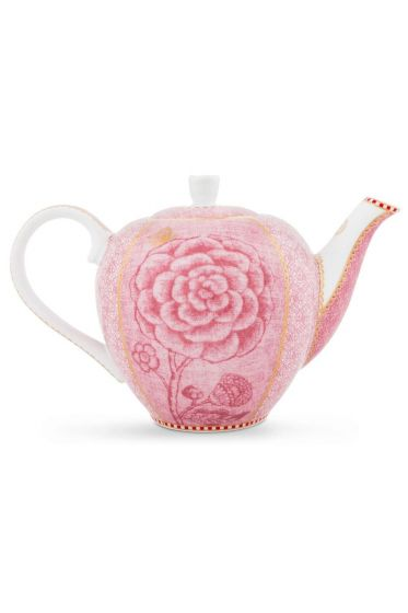 Spring to Life Teapot Small Pink