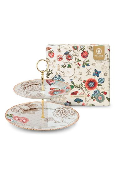 Spring to Life Cake Stand Off White