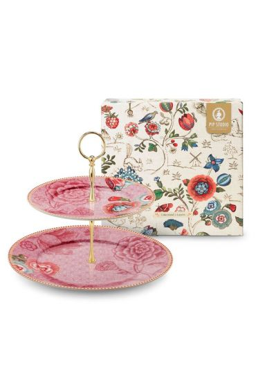 Spring to Life Cake Stand Pink